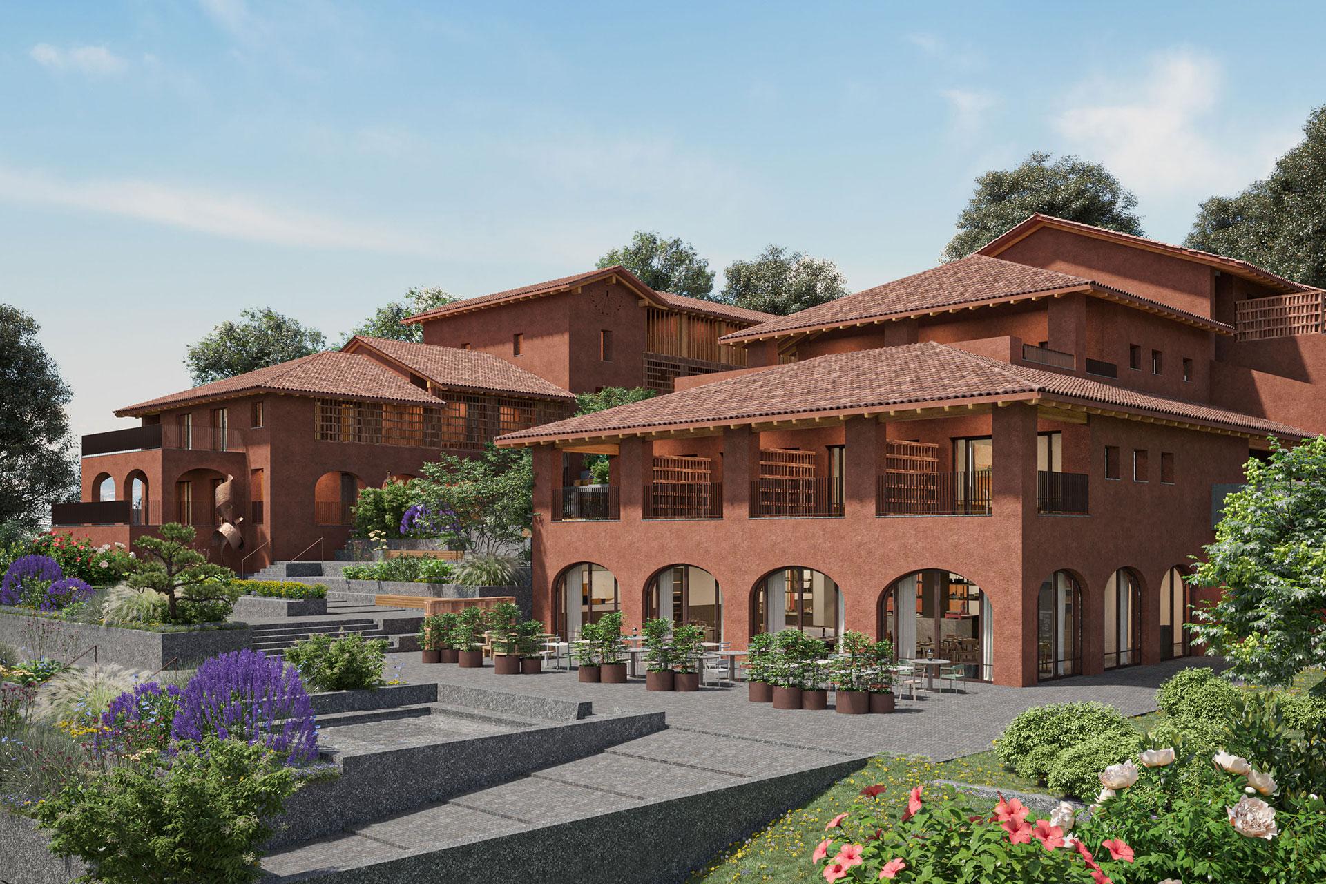 Casa di Langa rendering