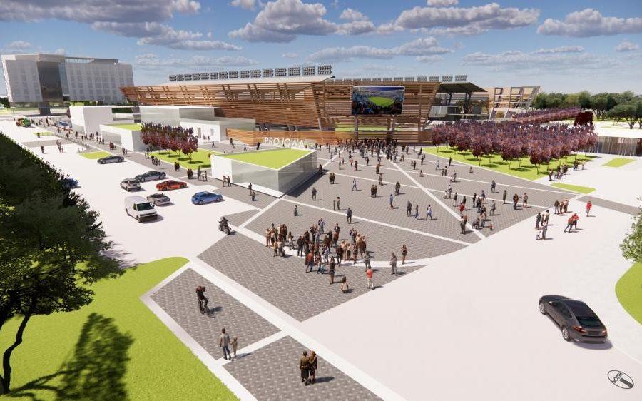 Des Moines soccer stadium project