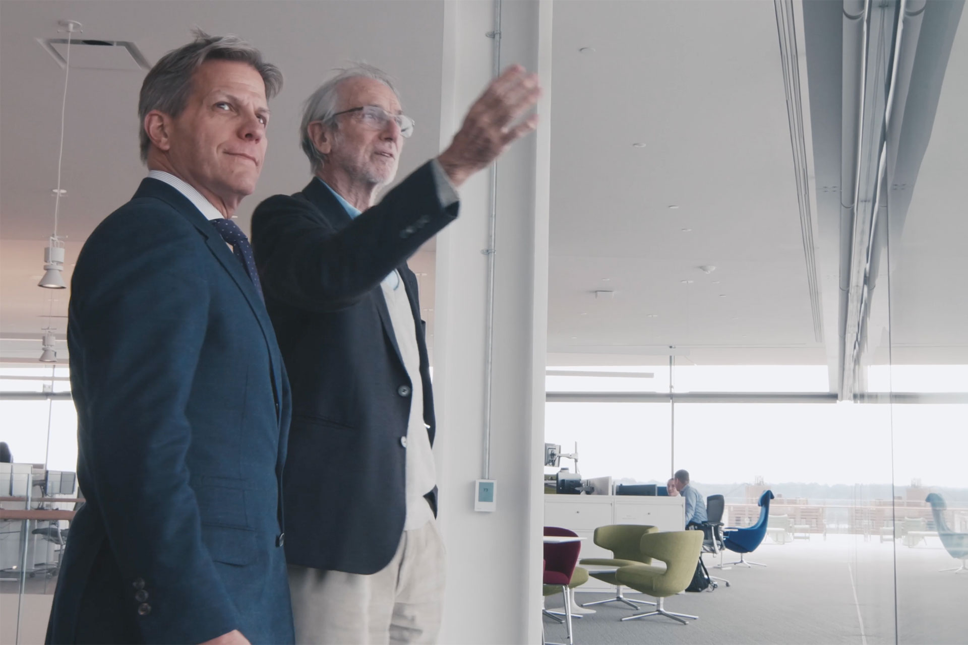 Kyle Krause and Renzo Piano